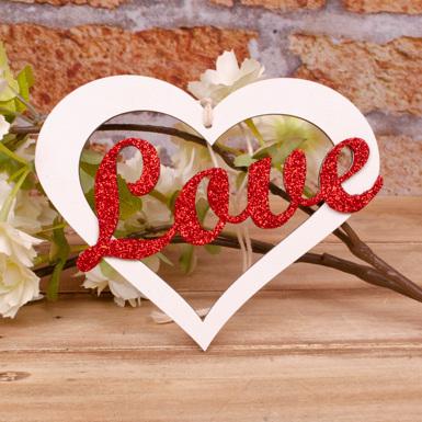 "подвеска ""сердце Love"""