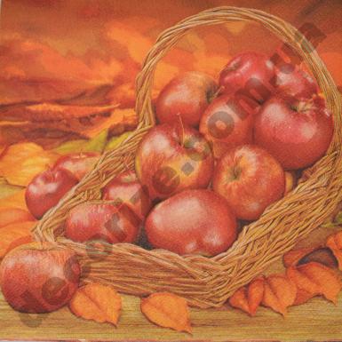 """Салфетки """"корзина яблок"""""""