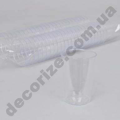 Форма для мусса пластиковая прозрачная (50шт) 100млл