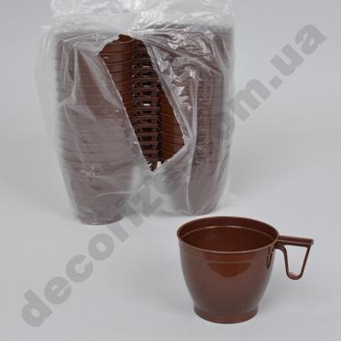 Кружка под кофе коричневая150 мл