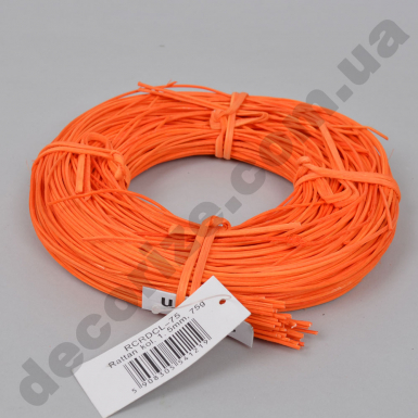 ротанг тонкий оранжевый