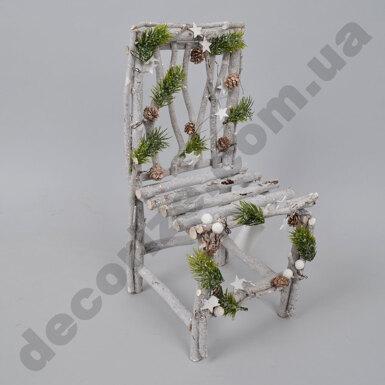 декор -кресло из натуральных материалов