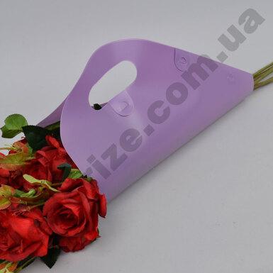 пакет для цветов (сиреневый)