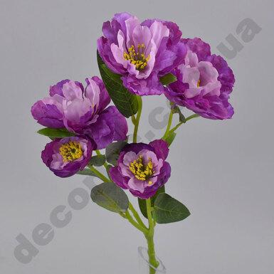 Искусственный пион фиолетовый