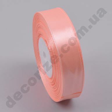 лента атласная 2см*33метра (цвет №7 -персиковая)