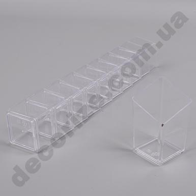 форма для десертов квадратная (10шт)