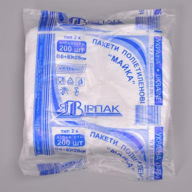 Пакеты 16х8х28 (200 шт)