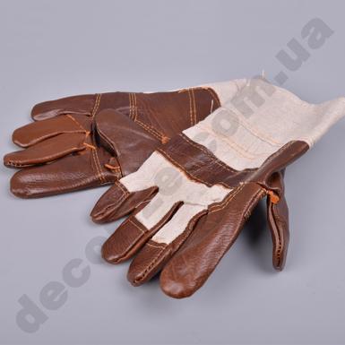 перчатки кожзам.