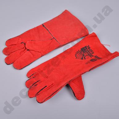Перчатки кожаные длинные с подкладкой RSPBC indianex