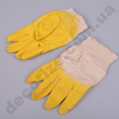 Защитные проклеенные перчатки, отделанные резинкой RGS