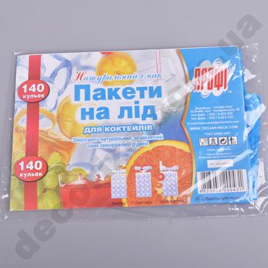 Пакеты под лед (140 шариков)