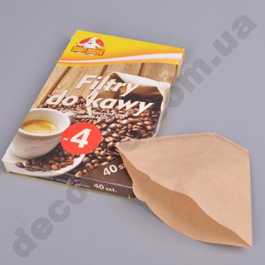 Фильтры для кофе №4  (40  шт)