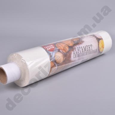 Бумага пергаментная для  выпечки силиконизированная  0,42 см*100 м