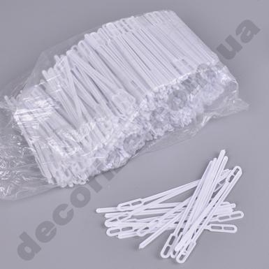 Мешалка из пластика белая 12 см (1000 шт)