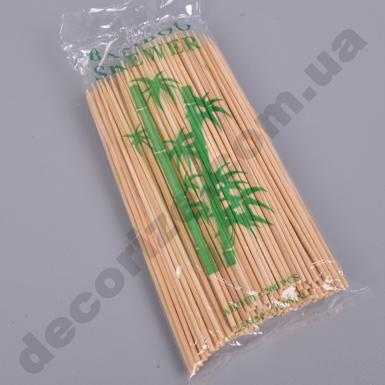 Бамбуковые палочки для шашлычков 15 см (200 шт)