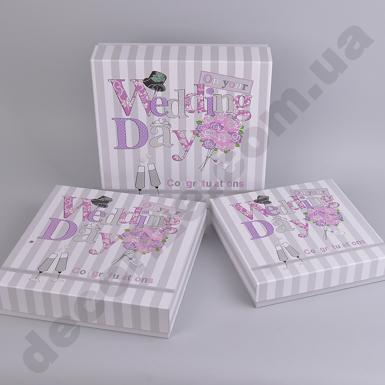 коробки свадебные  (3шт)