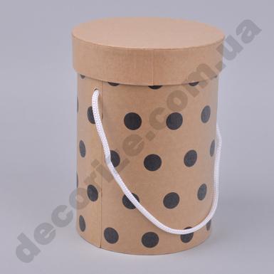 коробка шляпная одинарная