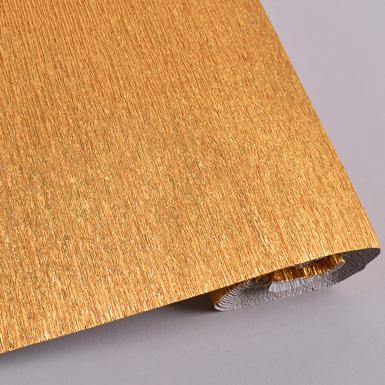 креп бумага металлизированная 50*2.5 м  (№807)