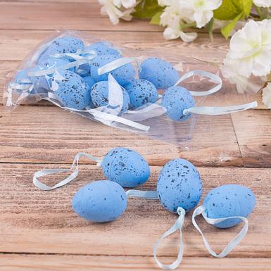 """яйца """"перепелиные средние"""" голубые"""