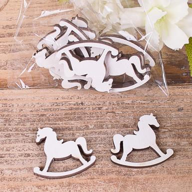 деревянный декор - лошадка