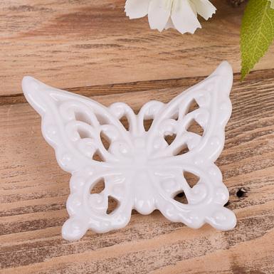 керамическая бабочка для декора