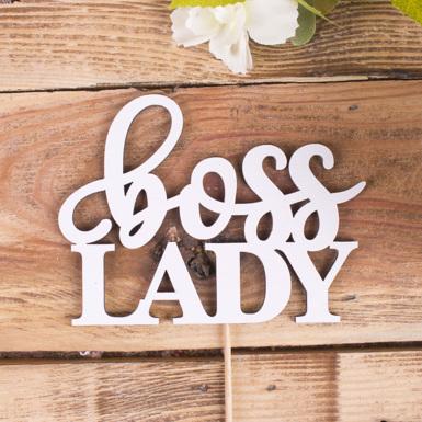 """топпер """"Boss lady"""""""