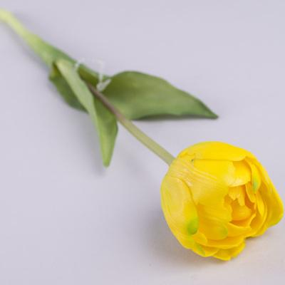 """Тюльпан одинарный латексный """"махровый"""" желтый"""