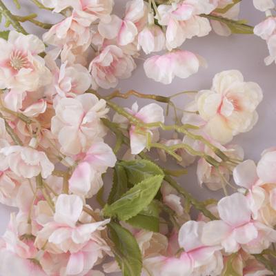 цвет яблони атласный розово-персиковый