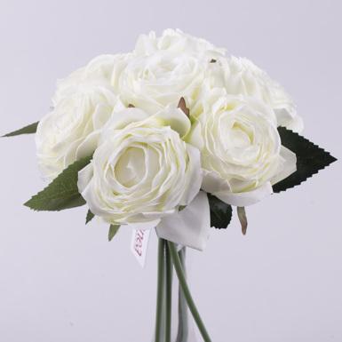 букет роза помпонелла (белая)
