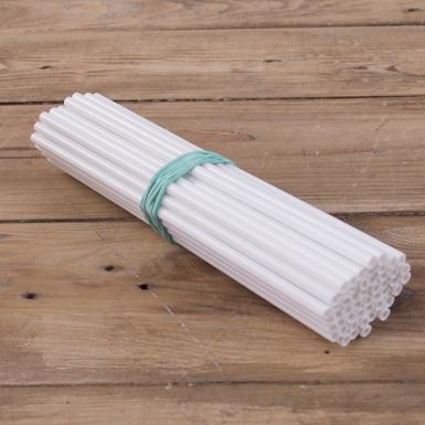 палички для попсів білі (50шт)