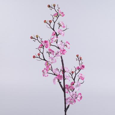 Ветка сакуры покрученая тройная (розовая)