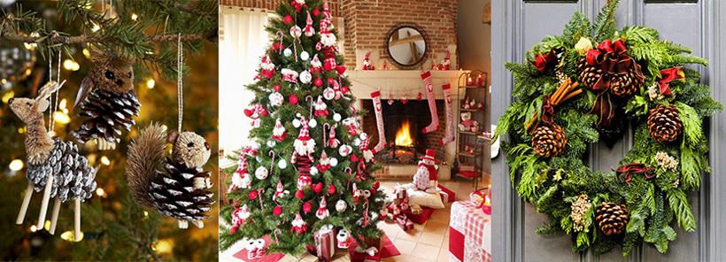 Асортимент новорічних прикрас на Decorize