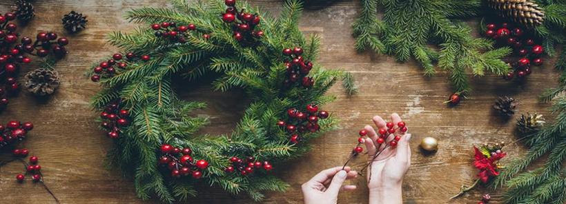 Чим прикрасити новорічний вінок