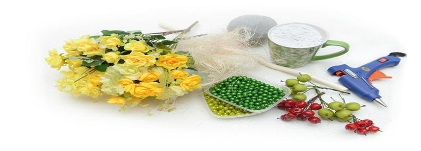 Види флористичних матеріалів