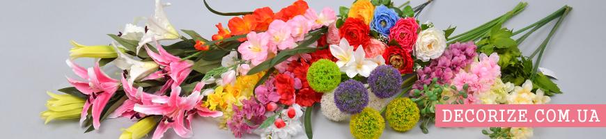 Искусственные цветы оптом и в розницу в интернет-магазине Decorize