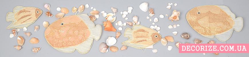 - ракушки, морской декор