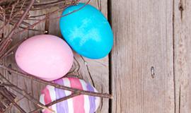 -пасхальные яйца