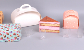 - формы для десертов, коробки для тортов