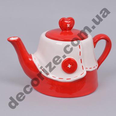 чайник с пуговицей