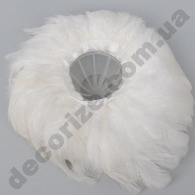Кашпо - каркас для букета из перьев
