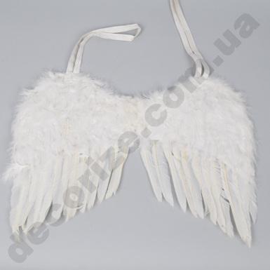 Крылья из перья белые