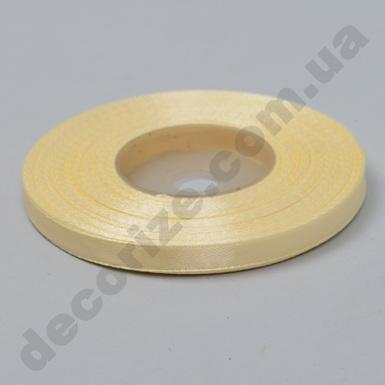 лента атласная 0.65см*35 (цвет №02 -кремовая)