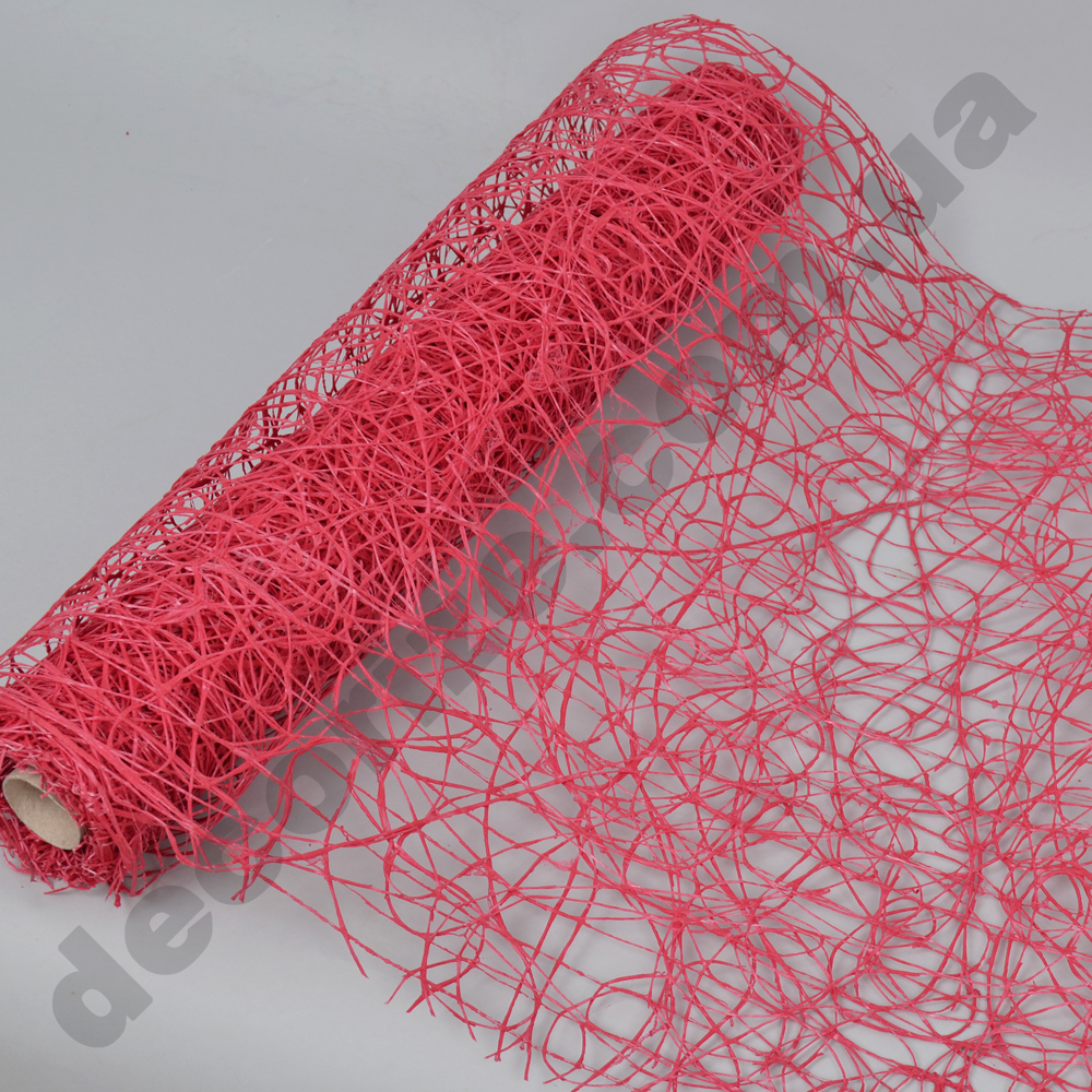 "сетка ""sisal mesh"" светло вишневая"