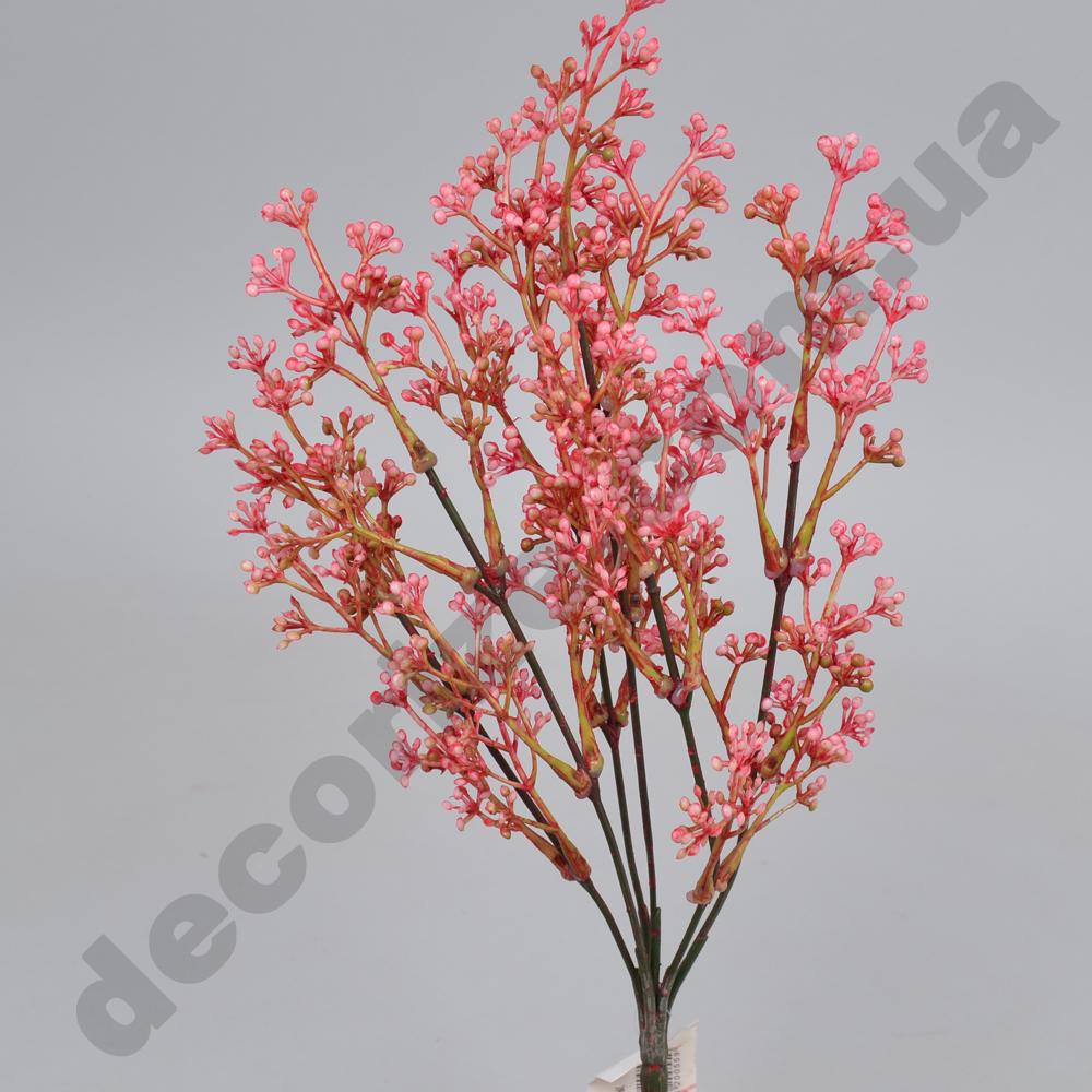 букет травка (мини-шарики) розовый