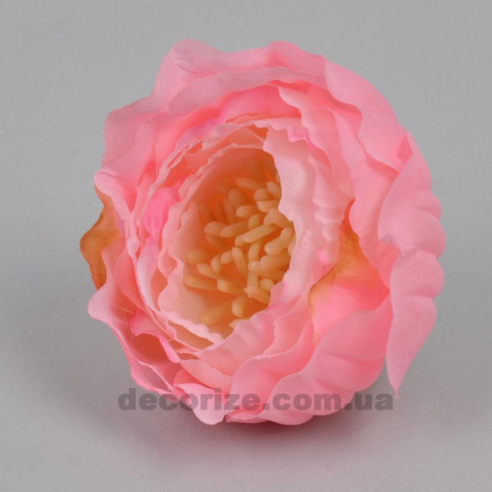 Головка пион с тычинками розовый