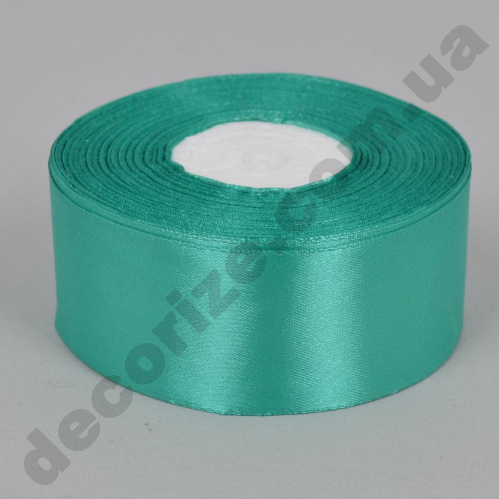 стрічка атласна 4см * 33 метра (колір блакитний №54)