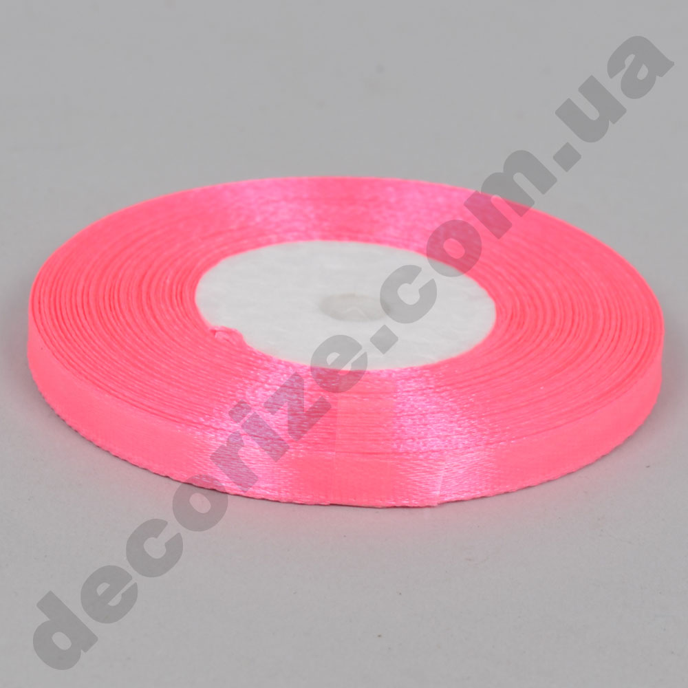 стрічка атласна 0.65см * 35 (колір №05 рожевий)