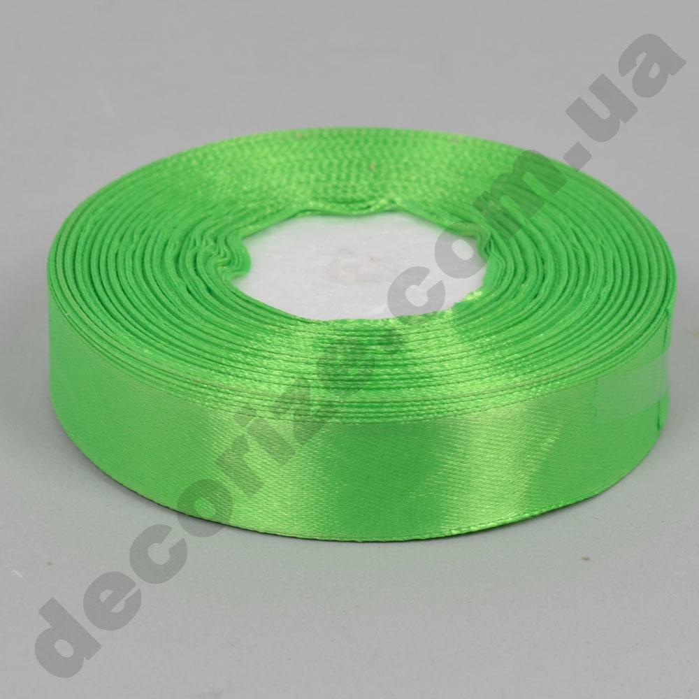 стрічка атласна 2см * 33метра (колір №52 - зелений)