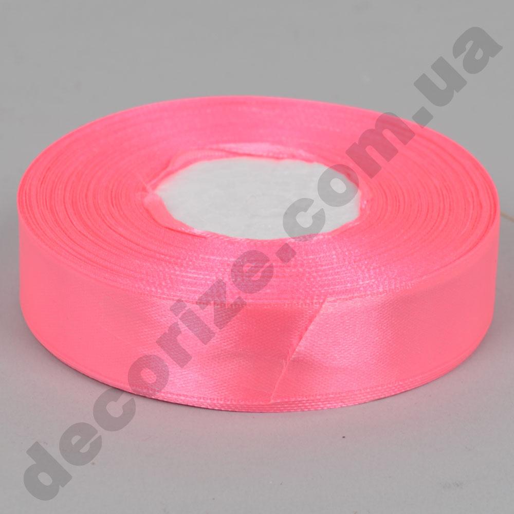 стрічка атласна 2см * 33метра (колір №5-рожевий)