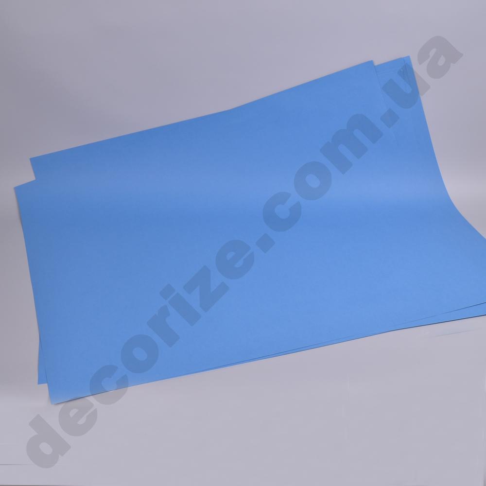 картон синий (91см*75см) - 5 листов